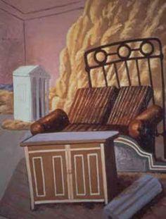 Giorgio De Chirico, 'Mobili nella stanza' (1927)