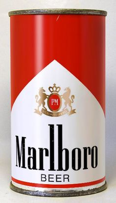 Question: If they test-marketed Marlboro Beer in bottles wouldn't they also have test-marketed Marlboro Beer in cans? Answer: they kinda did.