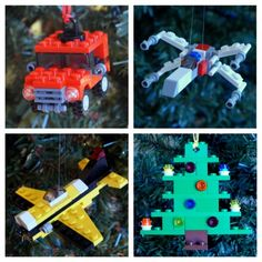 LEGO holiday ornaments from an @Etsy shop designed just to support local charities. (But they're cool on their own.)