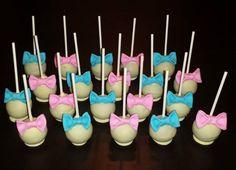Babyshower cake pops