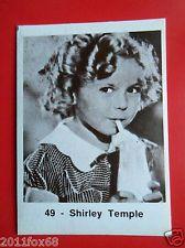 Shirley Temple, figurines actors sticker akteurs figurine i divi di hollywood #49 shirley temple