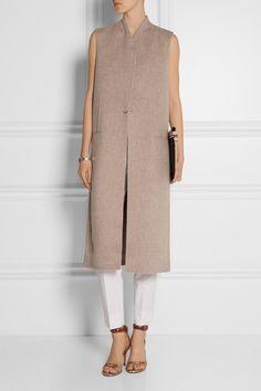 Acne Studios|Fox Doublé wool and cashmere-blend vest|NET-A-PORTER.COM
