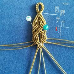 气质蓝~手绳(下) 第2步