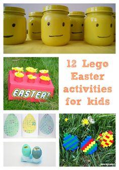 12 Lego Easter activ