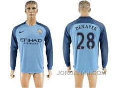 http://www.jordanaj.com/manchester-city-28-denayer-home-long-sleeves-soccer-club-jersey.html MANCHESTER CITY #28 DENAYER HOME LONG SLEEVES SOCCER CLUB JERSEY Only $20.00 , Free Shipping!