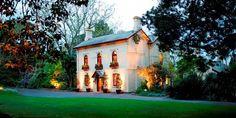 Gardens House, venue in the Botanic Gardens Melbourne. Love this exterior.
