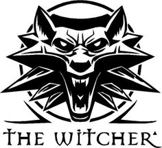 The Witcher 3 Logo Tattoo Ideas The Witcher Logo, The Witcher Game, Witcher Tattoo, Norse Runes, Game Logo, Art Clipart, Stencil Art, My Images, Screen Printing