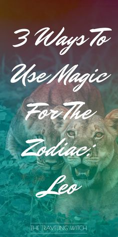 3 Ways To Use Magic For The Zodiac: Leo — The Traveling Witch : 3 Ways To Use Magic For The Zodiac: Leo // Witchcraft // The Traveling Witch Healing Spells, Wiccan Spells, Magic Spells, Love Spells, Magick, Pagan, Easy Spells, Astrology Numerology, Astrology Signs