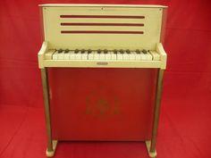 Piano - Brinquedo Antigo - Estrela - Anos 50 - Raridade - R$ 599,99 em Mercado Livre