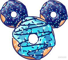Pop Blue Donut by XOOXOO