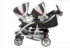 Travel System Double Strollers for Twins: Graco Quattro Tour Duo Double Stroller Travel System for Twins
