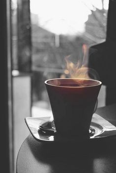 Coffee steam...lovely morning