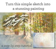 This is perfect if you don't quite know your way around watercolours yet.