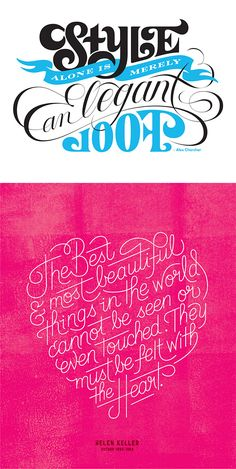 Beautiful Lettering Work by Erik Marinovich | Inspiration Grid | Design Inspiration