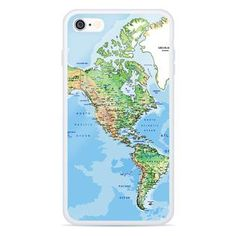 """We wish the world were twice as big, and half of it were still unexplored. Are You The One, Smartphone, Iphone Cases, America, Map, Maps, I Phone Cases, Peta, Usa"