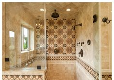 What does YOUR #shower look like? Gorgeous bathroom design by Kepler Design.