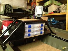 Kayak Accessories Homemade Any Pelican Bass Raider Owners Out There? - Page 15 - Bass Boats, Canoes, Kayaks and more - Bass Fishing Forums Mini Bass Boats, Bass Fishing Boats, Bass Fishing Tips, Kayak Fishing, Fishing Basics, Kayak Boats, Fishing Stuff, Pelican Boats, Australian Bass