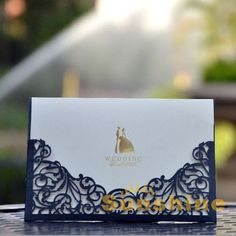 Wedding invitation card, black wedding cards, CW1018, include envelope and customised printing, free shipping $132.63