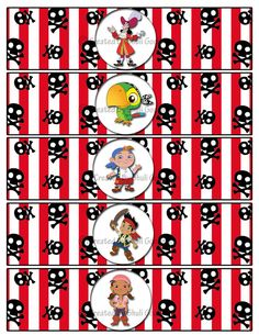 Items similar to Jake and the Neverland Pirate water lables - Digital File You Print on Etsy Pirate Birthday, Pirate Theme, 2nd Birthday, Another Year Older, Ball Birthday Parties, Neverland, Party Supplies, 1, Etsy