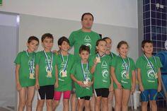 Campomaiornews: Jovens da Escola de Natação do Campomaiorense part...