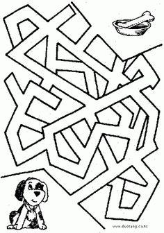 Labirintusok - Ibolya Molnárné Tóth - Picasa Web Albums Picture Puzzles, Arithmetic, Kids Church, Worksheets For Kids, Maze, Farm Animals, Coloring Pages, Let It Be, Album