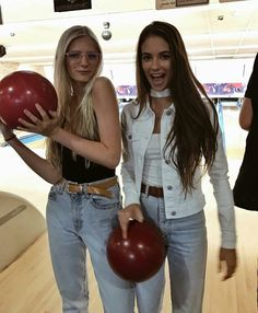 bowling candid
