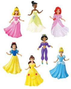 Disney Princess Collection 7-Doll Gift Set for only $24.49