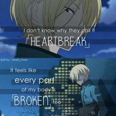 anime quotes (Tonari no Kaibutsu-kun)