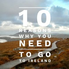 The Ultimate Ireland Itinerary. 10 Best Places to Go and See. Stuff To Do, Things To Do, Ireland Landscape, Landscape Design, Travel Inspiration, Places To Go, Road Trip, Explore, How To Plan