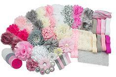 JLIKA Fashion Headband Kit - Baby Shower Games Headband Station Party Supplies for DIY Hair Bow Maker - Make 32 Headbands and 5 Clips - Paris Inspired Collection JLIKA http://www.amazon.com/dp/B01BG3P3RO/ref=cm_sw_r_pi_dp_0Qe1wb1Y4Y690