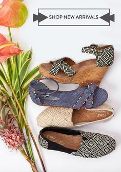 These spring styles balance lovely looks and laidback charm. They are the perfect symmetry for any warm weather look.