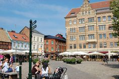 Lilla Torg is our favourite part of Malmö, Sweden.
