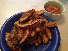 Homemade Fries. From pumpkin.