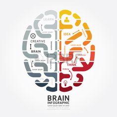 Illustration about Infographics vector brain design diagram line monochrome colour style template. Illustration of business, background, information - 43142273 Circle Infographic, Infographic Templates, Brain Design, Brain Illusions, Brain Vector, Brain Icon, Research Poster, Brain Illustration, Brain Logo