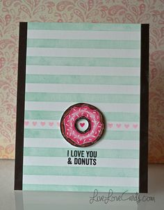 I Love Donuts - see the video tutorial!