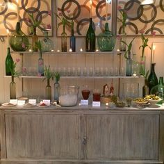 Bloody Mary Bar - Circa Interiors & Antiques