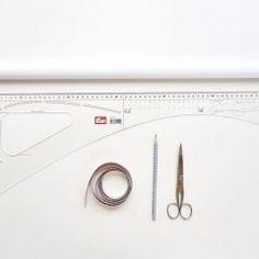Grundschnitt erstellen: 4-Bahnen-Rock Color Blocking, Ikea, Projects To Try, Kallax Regal, Super, Tricks, Couture, Inspiration, Shopping