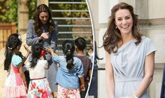 THE Duchess of Cambridge went to Princess Diana's ancestral home in London to thank benefactors for raising £10million towards a state-of-the-art mental health centre - and revealed there is a new member of the Royal Family.