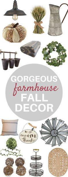 Farmhouse fall decor, Fall decor ideas, fall decor for the home, home decor, farmhouse decor, farmhouse style, rustic fall decor, fall decorations, fall ideas
