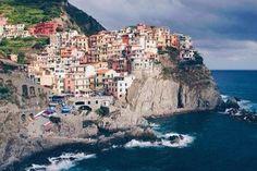 """Italy has a beautiful coastline 😍🇮🇹"" Cinque Terre, Travel Goals, Adventure Awaits, Fuji, Fine Art, World, Places, Water, Outdoor"