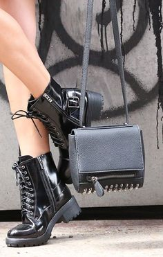 Enforce Boots - Bag. - Necessary Clothing