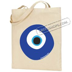 Evil eye embellishment - I wonder if this could be made with acrylic paint - pouring out a blob of the dark blue (onto something it won't stick to), then adding smaller blobs of the other colours ... letting it dry ... then poking holes so it could be attached to a bag ... ?  Crazy or ????????????
