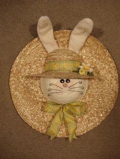 "Bunny Hat ""Wreath"""