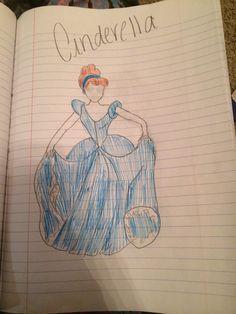 How to Draw Disney's Cinderella