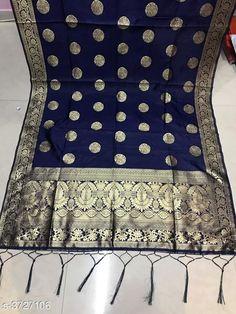 Dupattas Trendy Attractive Banarasi Silk Dupatta Fabric: Banarasi Silk  Size: Length - 2.3 Mtr Width - 36 in Description: It Has 1 Piece Of Women's Dupatta Work: Zari Jacquard Work Country of Origin: India Sizes Available: Free Size   Catalog Rating: ★3.9 (329)  Catalog Name: Trendy Attractive Banarasi Silk Dupattas Vol 1 CatalogID_520967 C74-SC1006 Code: 323-3727106-267