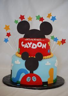 CakeFilley: Mickey Mouse Clubhouse Cake