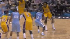 Timofey Mozgov stuffed by rim on slam dunk fail (Video / GIF) by Holdout Sports