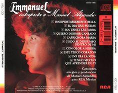 Catálogo Musical Artistas Latinos y Música Instrumental Discos De Colección: Emmanuel