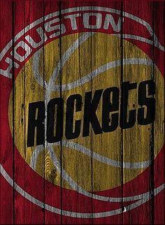 Joe Hamilton - HOUSTON ROCKETS WOOD FENCE