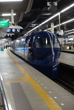 Express Train at Nankai Namba Station, Osaka, Japan